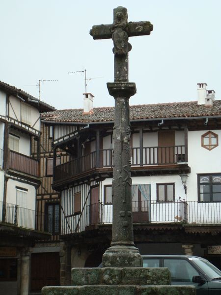 La Alberca (Salamanca) detalle trasera