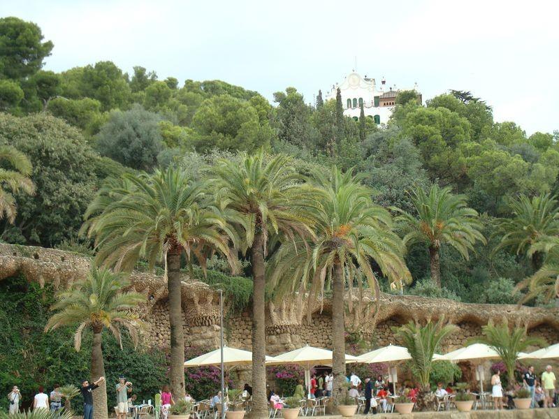 Vista desde La Plaza al interior del Parque