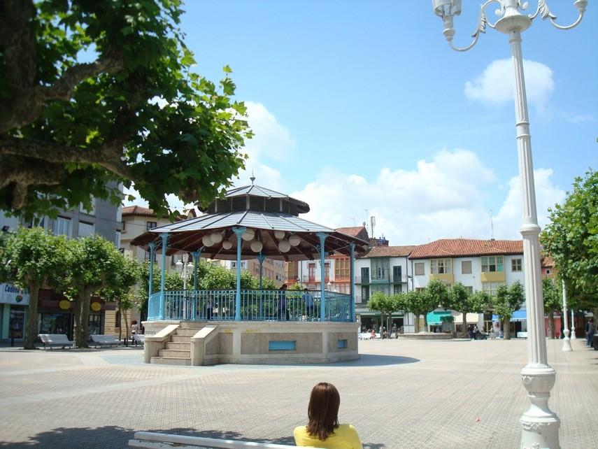 Santoña, plaza