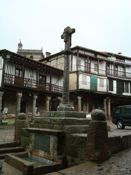 La Alberca (Salamanca) sobre fuente
