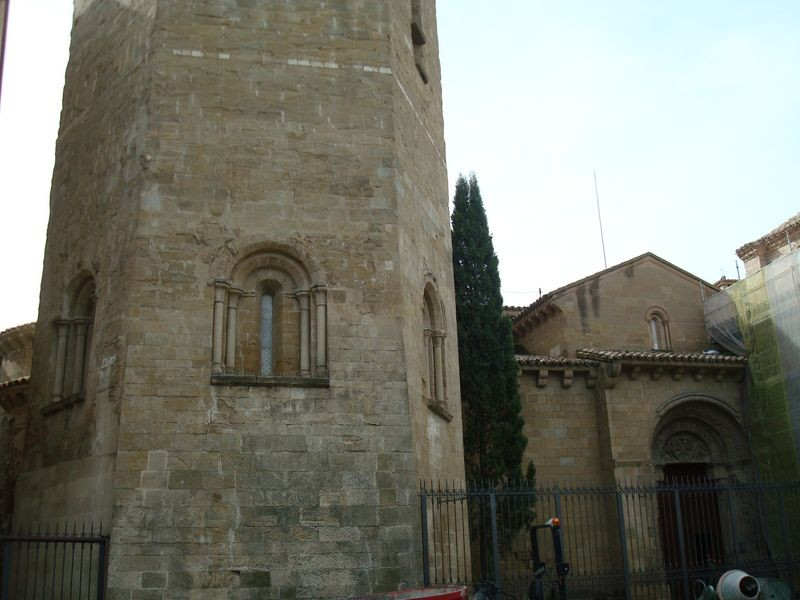 Huesca, entrada I. S. Pedro El Viejo