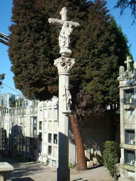 Cruceiro en Cimeterio S. Andres de Comesaña, Vigo