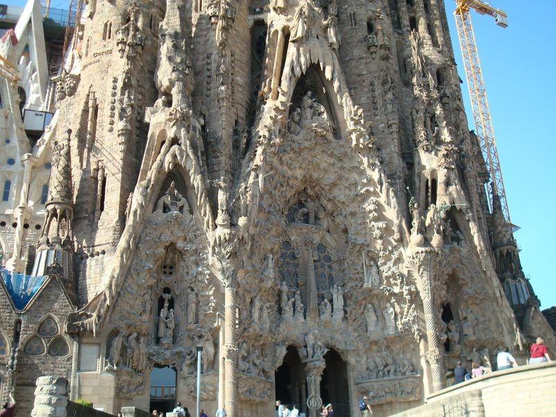 Temple de la Sagrada Familia, detalle