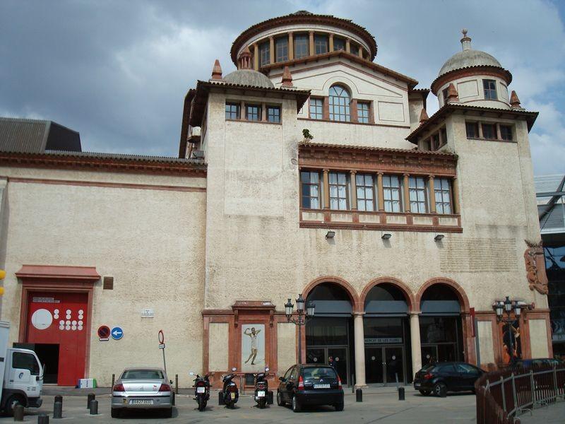 Teatre mercat de Les Flors