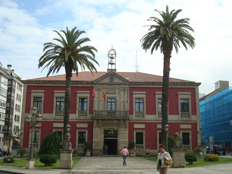 Vilagarcia, Ayuntamiento