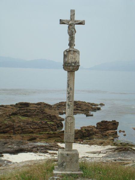 Cruceiro Playa Barcas, Coruxo, Vigo