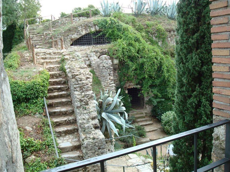 Girona, rincón Murallas
