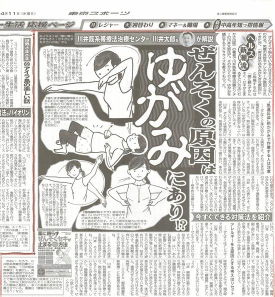 東京スポーツ新聞(東スポ)