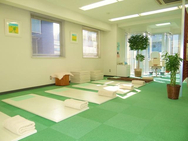 横浜でよく効くと人気の整体院の治療室:川井筋系帯療法横浜治療センター
