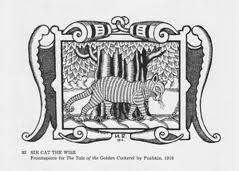 Sir Cat the Wise - Bilibin