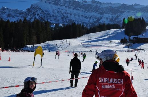 Skifahren Emmenthal