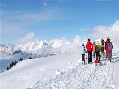 Schneeschuhtouren Schlitteln Wandern etc... www.arosa.ch
