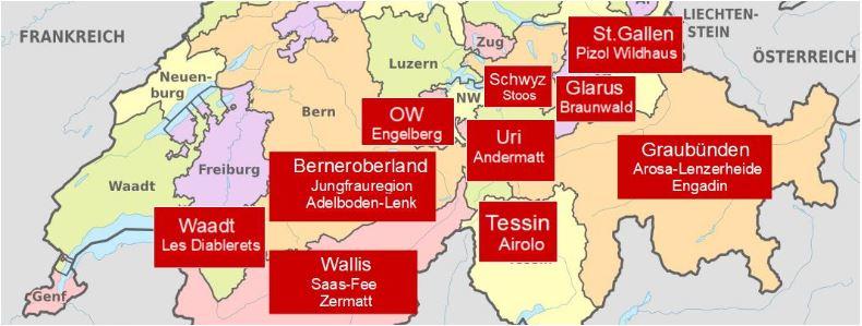 Skigebiete im Wallis mit Karten Skifahren im Wallis als PDF