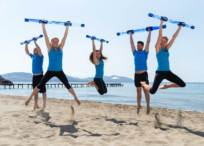 Rohre für Fitnessgeräte