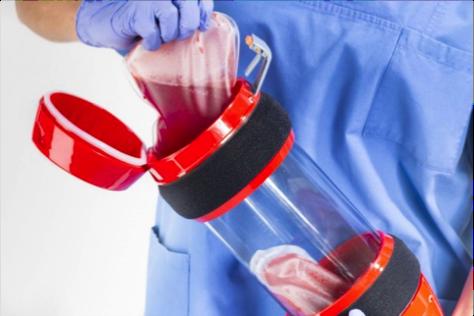 Rohrpost-Systeme für den Transport von Blutkonserven