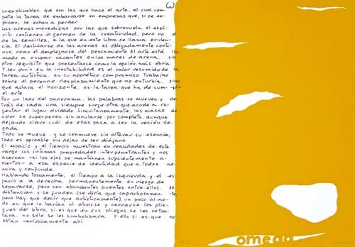 13.- Topología hermenéutica, o bien hermenéutica topológica, Serigrafía de  43 x 31 cms.