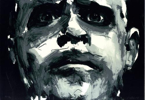 2.- Frankenstein,  Serigrafía de  43 x 31 cms.