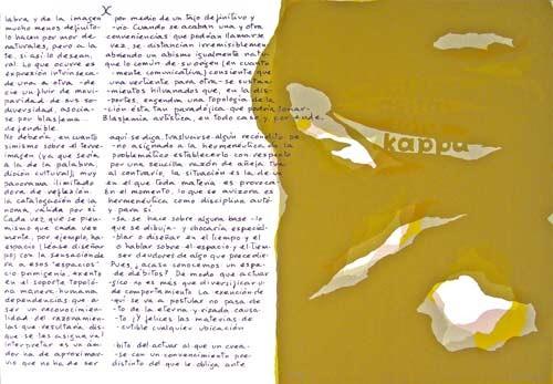 9.- Topología herme4.- Topología hermenéutica, o bien hermenéutica topológica, Serigrafía de  43 x 31 cms.néutica, o bien hermenéutica topológica, Serigrafía de  43 x 31 cms.