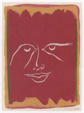 3.- El Cantar de los Cantares,  Serigrafía de  43 x 31 cms.