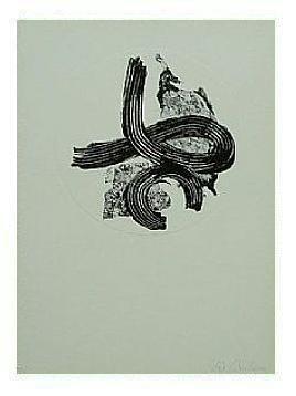 6.- Océana,  Litografía, mancha 47 x 34,5 cm., soporte 47 x 34,5 cm.