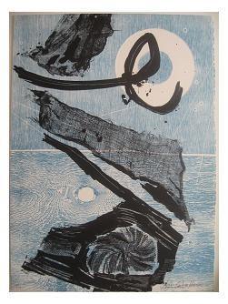 12.- Océana,  Litografía, mancha 47 x 34,5 cm., soporte 47 x 34,5 cm.