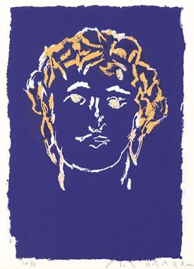 6.- Damasco Suite,  Serigrafía de  43 x 31 cms.