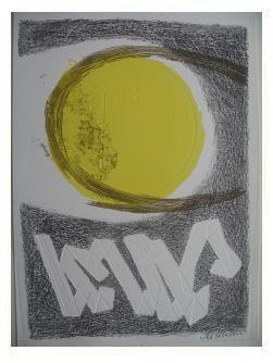 8.- Océana,  Litografía, mancha 47 x 34,5 cm., soporte 47 x 34,5 cm.