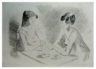 3.- Eduardo Vicente In Memoriam (III), Punta seca y Aguafuerte, mancha 12,5 x 17,5 cm., soporte 37,5 x 27 cm.