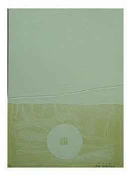 2.- Océana,  Litografía, mancha 47 x 34,5 cm., soporte 47 x 34,5 cm.