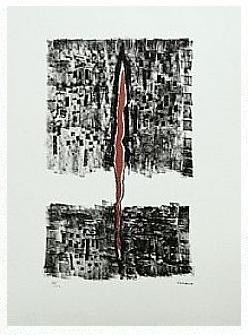 15.- Epílogo, Litografía, 49  x 35 cm., soporte 49 x 35 cm.