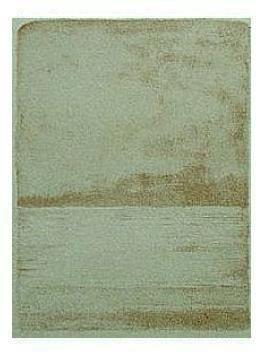9.- Prefacio de El Nuevo Mar, Litografía, mancha 23 x 17 cm., soporte 45,5 x 33 cm.