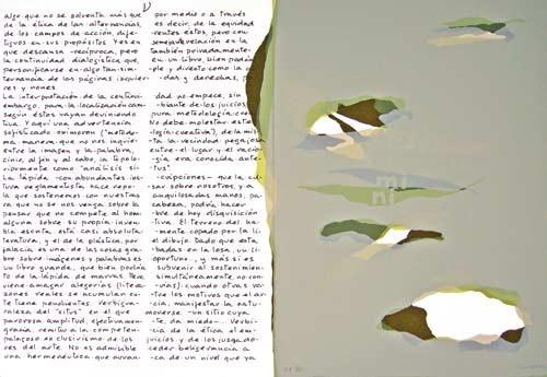 12.- Topología hermenéutica, o bien hermenéutica topológica, Serigrafía de  43 x 31 cms.