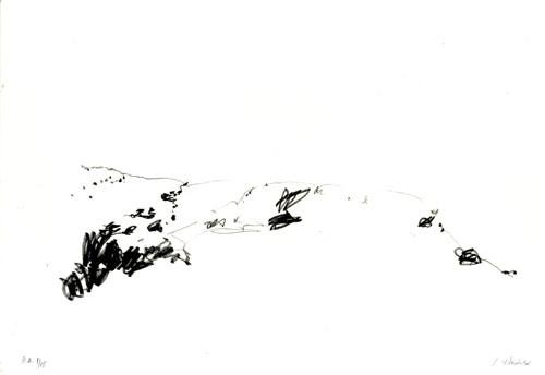 23.- Frankenstein,  Serigrafía de  43 x 31 cms.