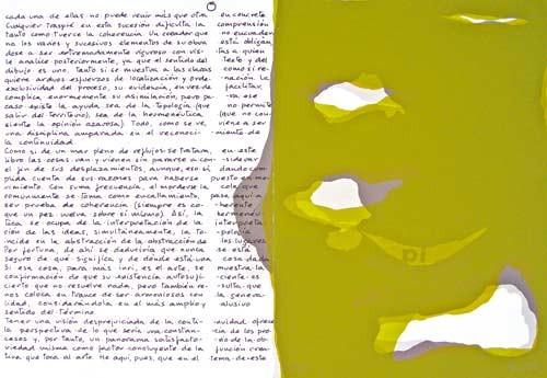 18.- Topología hermenéutica, o bien hermenéutica topológica, Serigrafía de  43 x 31 cms.