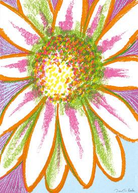 1.- Floraleza,  Serigrafía de  43 x 31 cms.