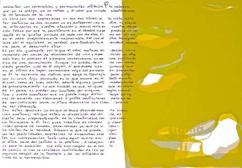 6.- Topología hermenéutica, o bien hermenéutica topológica, Serigrafía de  43 x 31 cms.
