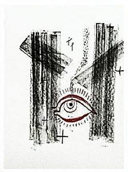 5.- Oh, cristalina fuente, Litografía, 49  x 35 cm., soporte 49 x 35 cm.