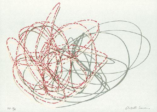 20.- Chelete Monereo,  Serigrafía de  43 x 31 cms.