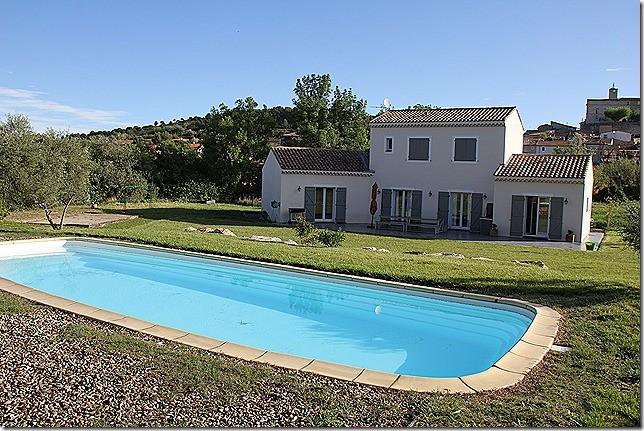 Unser Haus mit Pool