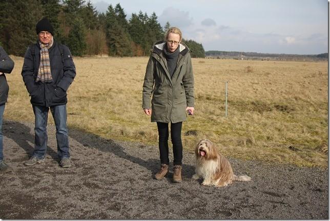Meike und Blomquist... auf dem Spaziergang kennengelernt