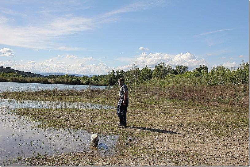 Ein See in Beziers