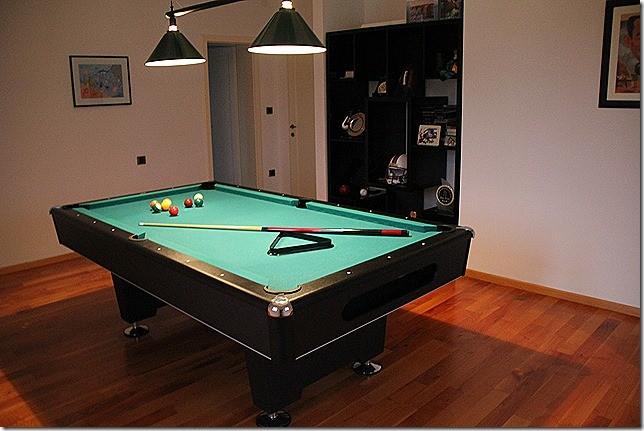 Billiardzimmer ganz für uns alleine