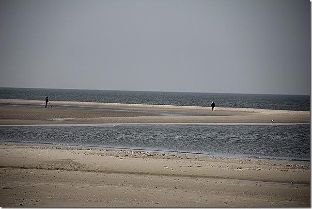 Endloser Strand für Robin und mich