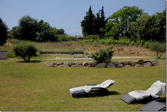 Ein riesen Garten ganz für uns alleine