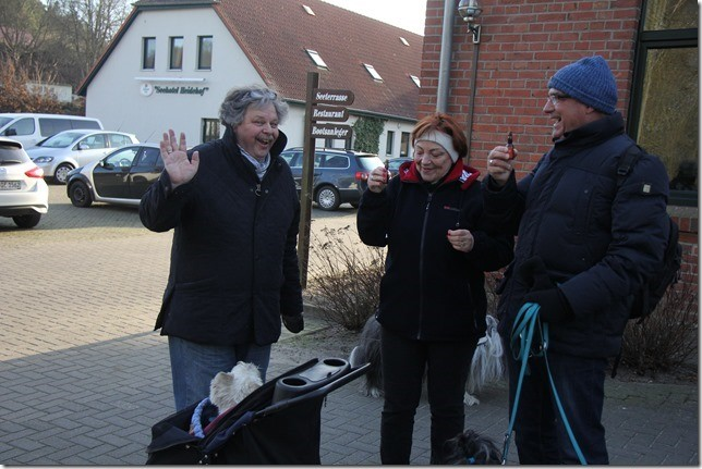 Wolfgang, Ruth und Mario