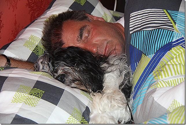 Kuschel- bzw. Schlafzeit