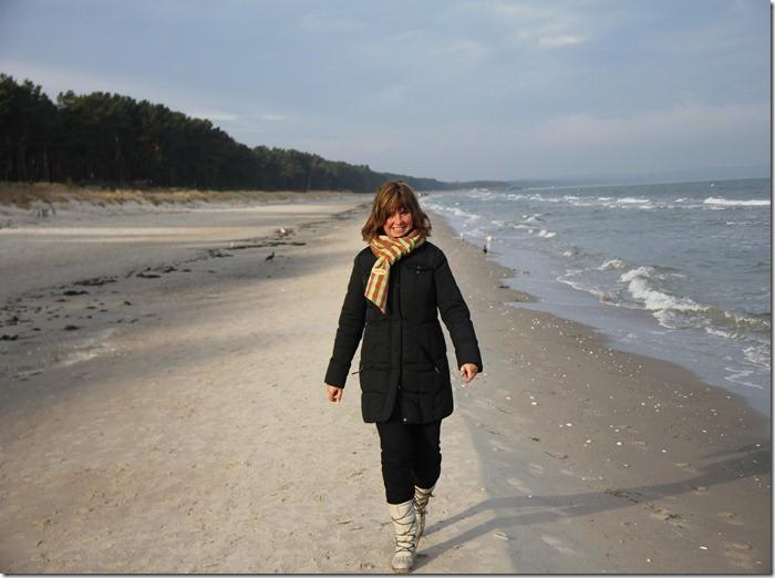 Strand von Binz... ganz für uns alleine