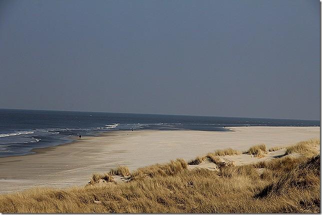 Strand, so weit das Auge reicht! Herrlich