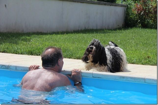 Ich hab meine Schwimmflügelchen nicht mit, VATTER!!!!