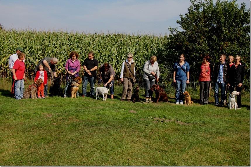 Gruppenbild Hundeschule Bliedersdorf